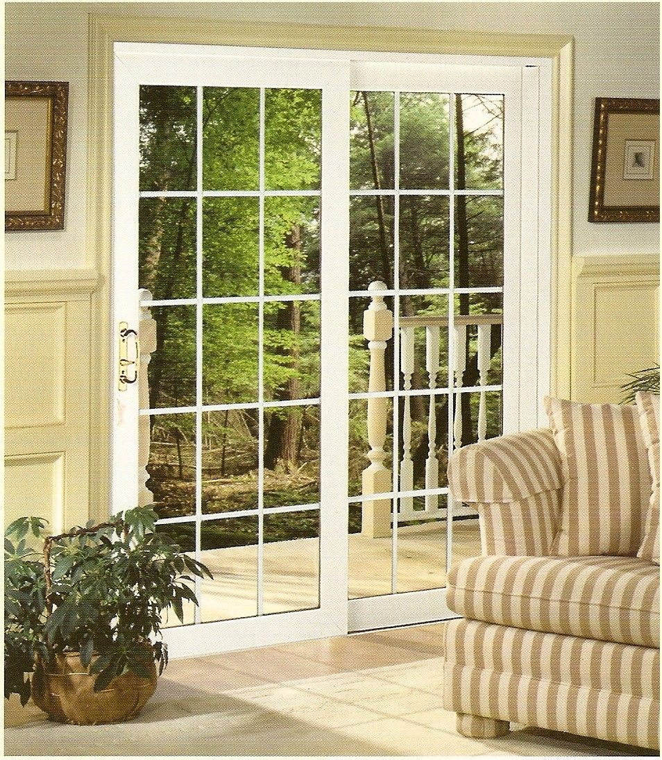 Sliding French door for bedroom to sunroom home 3 Pinterest