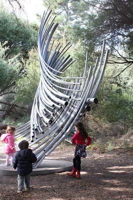 Kids party venue Melbourne. Purple Party People Melbourne Review: McClelland Gallery + Sculpture Park, Langwarrin