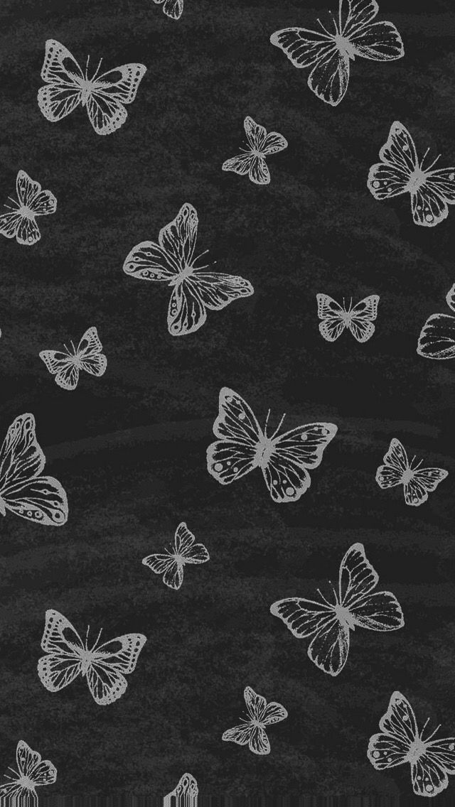 Butterflies Butterfly Wallpaper Flower Phone Wallpaper Butterfly Wallpaper Iphone