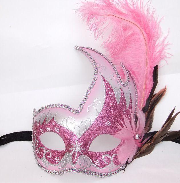 swan mask template - masquerade pink feather swan masks masquerade masks
