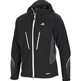 Terrex Windstopper Softshell Jacket Mens Black Soli The