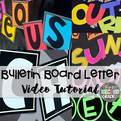 bulletin board letters bulletin boards