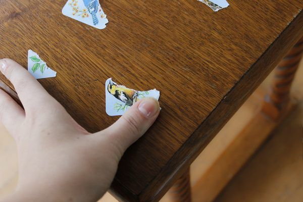 How To Remove Sticky Residue From Wood