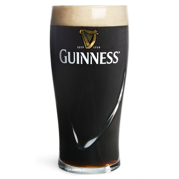 Guinness Pint Glasses CE 20oz / 568ml  Set of 4: £9.99