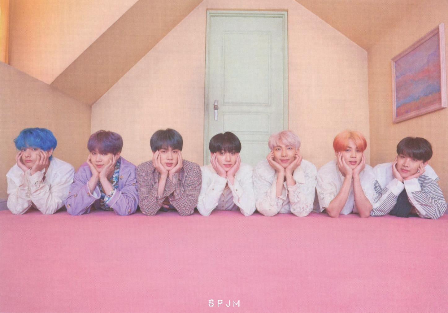 """spjm on Twitter: """"[SCAN] MAP OF THE SOUL PERSONA Version 03… """" 