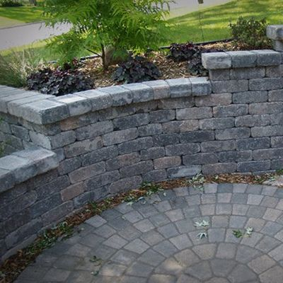 strassen wall borgert patio stones patio retaining on wall blocks id=23750