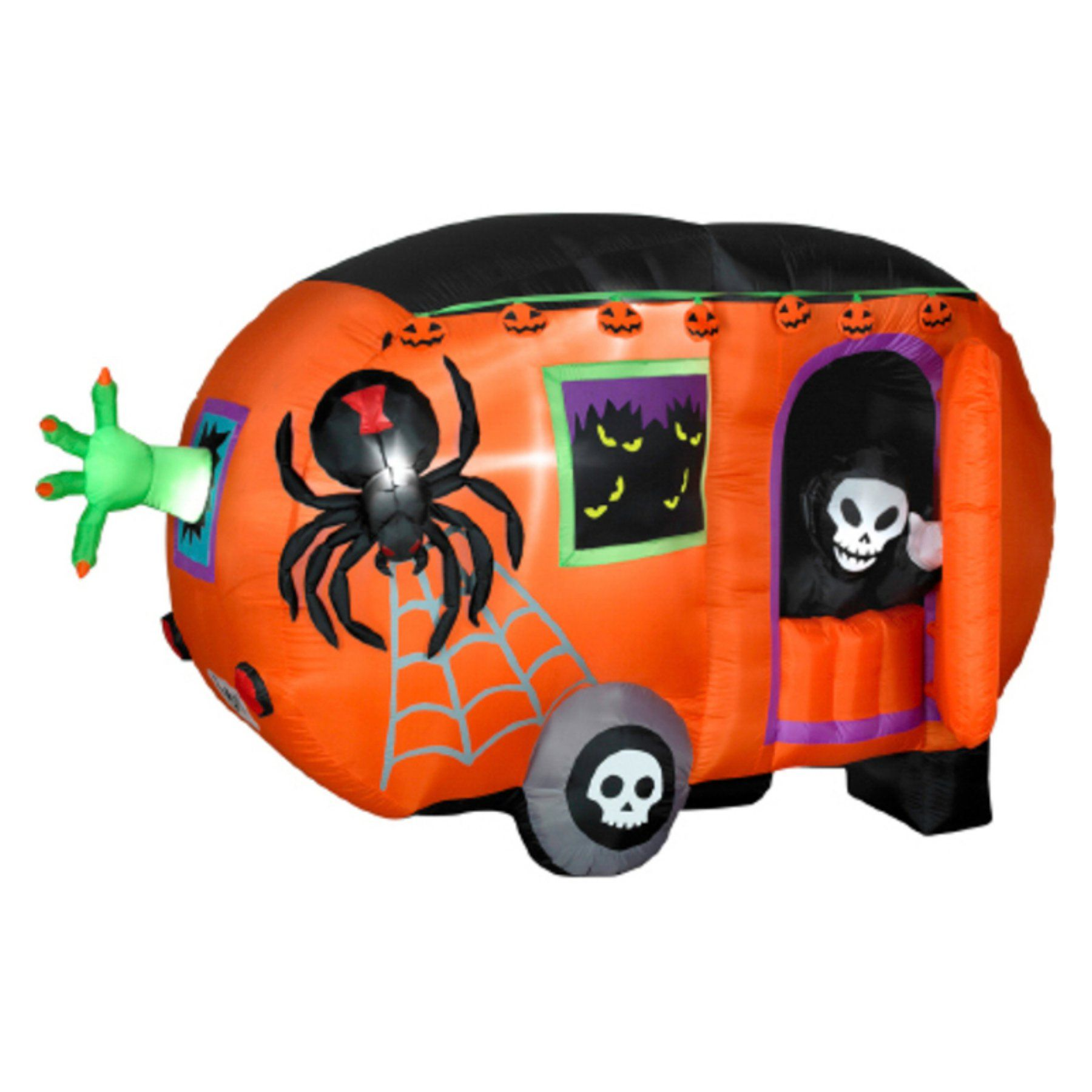 Gemmy Airblown Animated Halloween Camper Inflatable G08