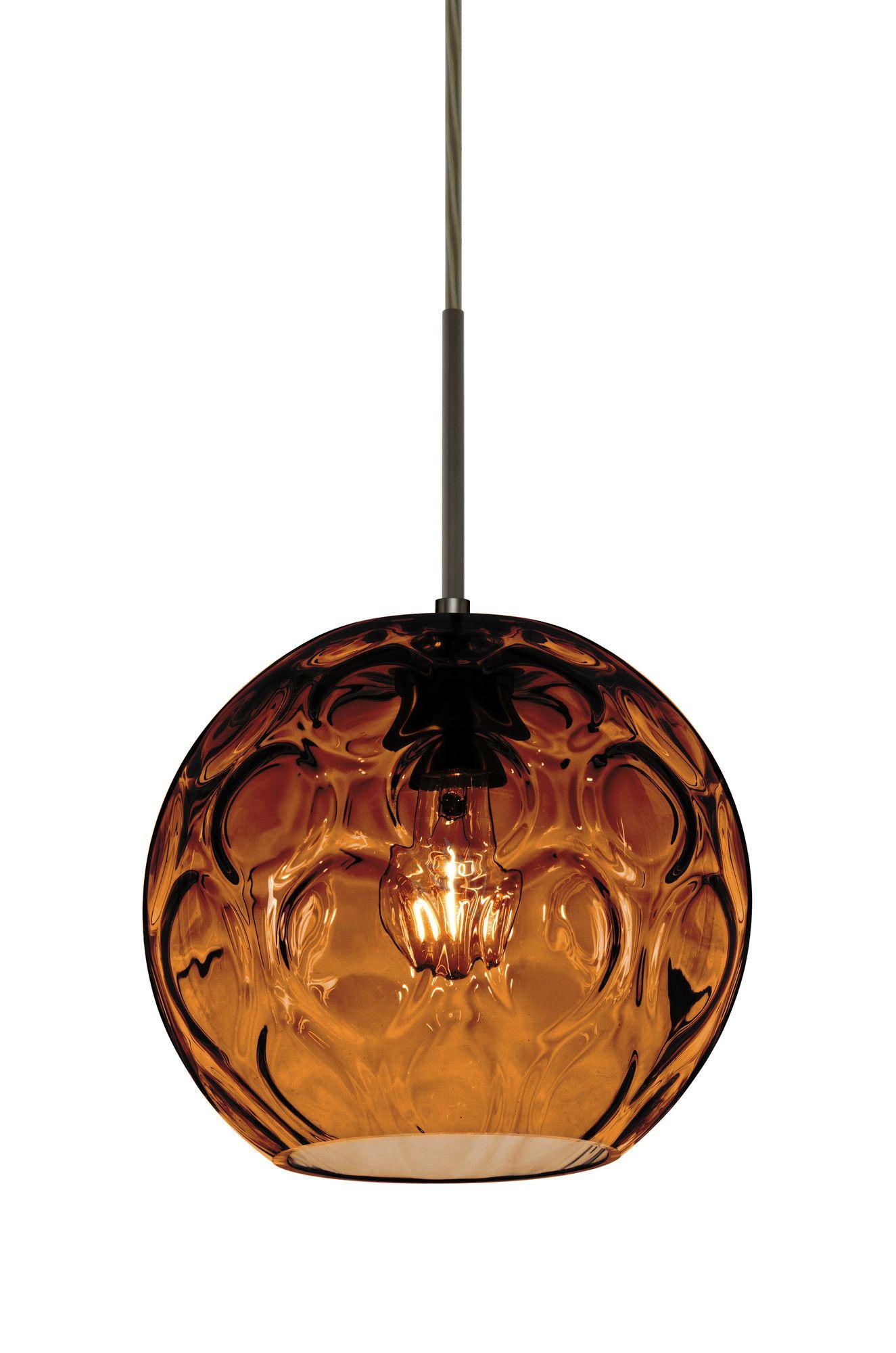 Ay 1 Light Mini Globe Pendant