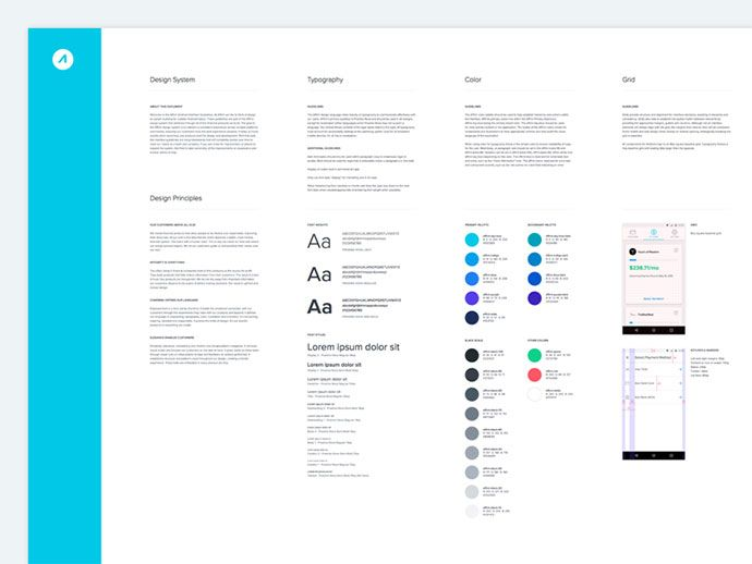 40 great examples of ui style guides guide pinterest style rh pinterest com Icon Web UI Style Guide UI Style Guide Examples