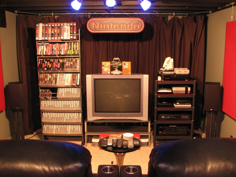 Smokehouses Gaming Area From The Neo Geo Forums
