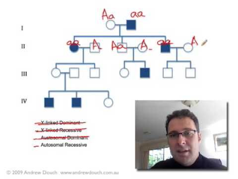 Pedigree Analysis 1 How To Solve A Genetic Pedigree No 1 Http Www Thehowto Info Pedigree Analysis 1 Ho Biology Teacher Medical Laboratory Science Biology