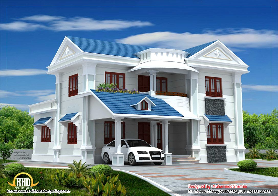 Pics of a new house beautiful house designs our dream for Latest beautiful houses