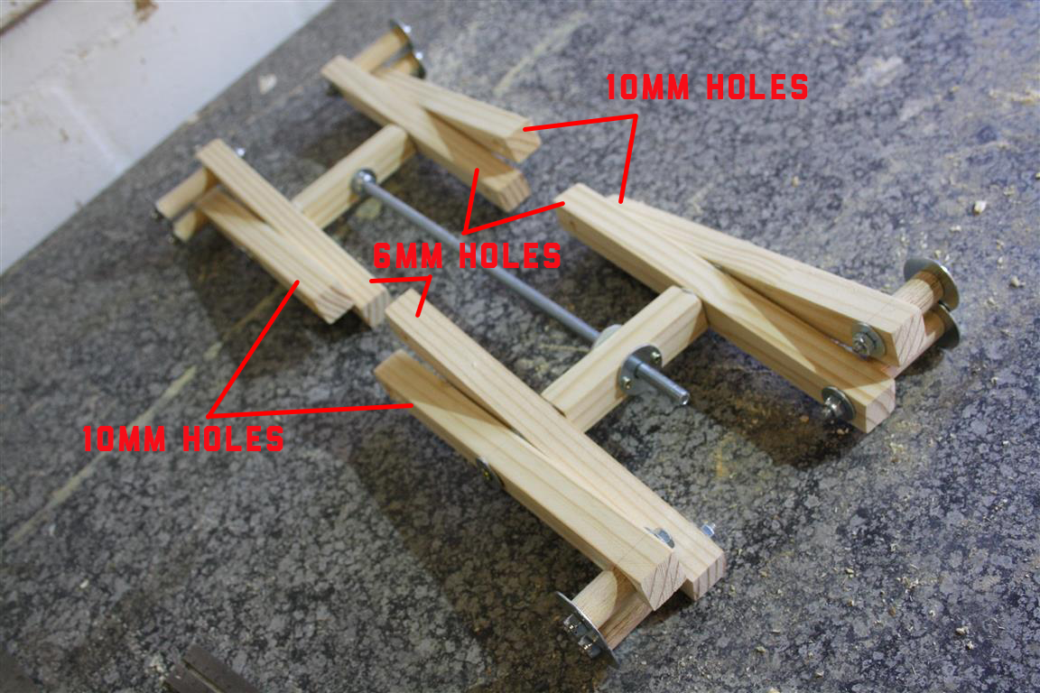 How To Make Your Own Diy Scissor Lift With Plans Woodwork Junkie