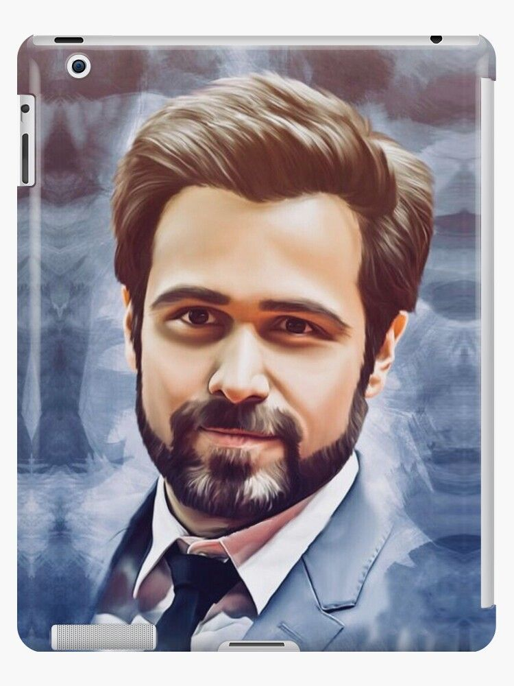 'Emraan Hashmi Bollywood Movie Actor' iPad Case/Skin by innabbz