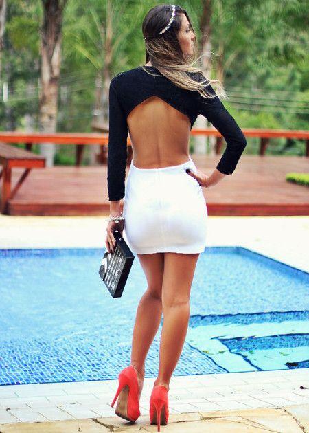 Vestido P/B