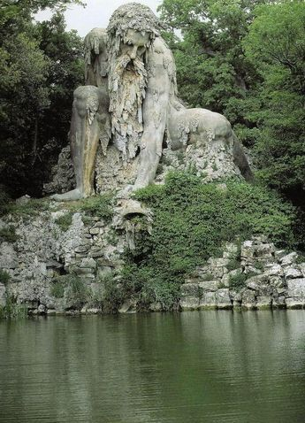 The Apennine Colossus, Florence, Italy.