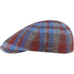 Photo of Stetson Lambswool Patchwork Flache Kappe Flache Kappe Wolle StetsonStetson