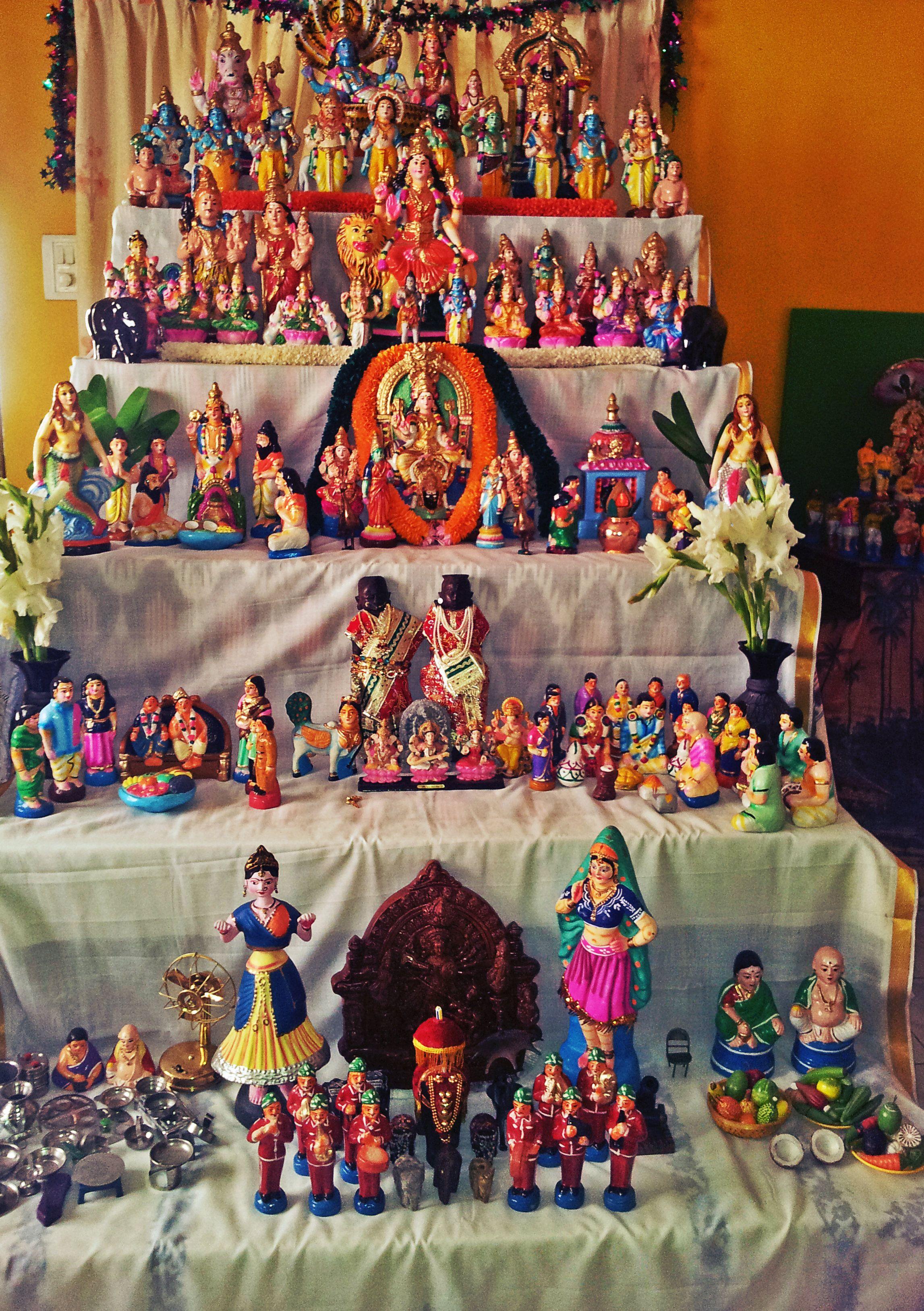 Golu Decoration Tips Agriculture Based Theme For Golu In Bharatmomscom Dolls
