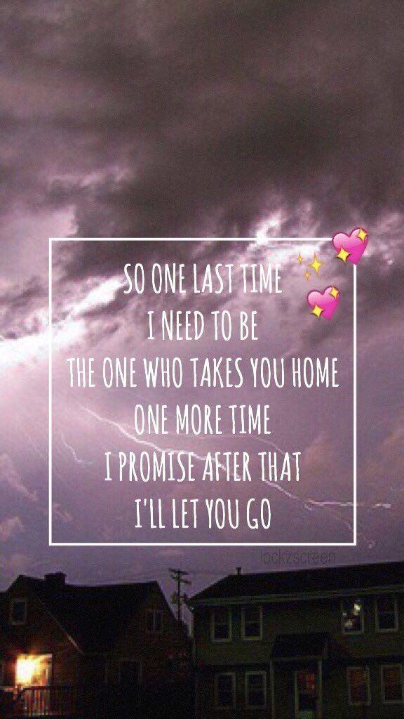 Fall Out Boy Phone Wallpapers Wallpaper Lockscreen One Last Time Ariana Grande Lyrics