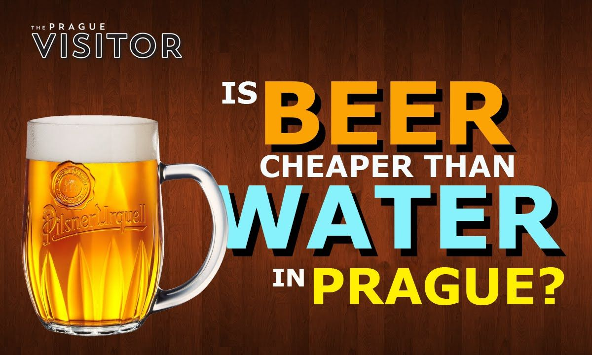 This video verifies the hypothesis saying beer is cheaper than water in Prague.
