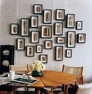 amazing art display. photo by roland bello