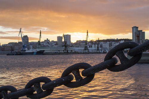 La Marina en La Coruña