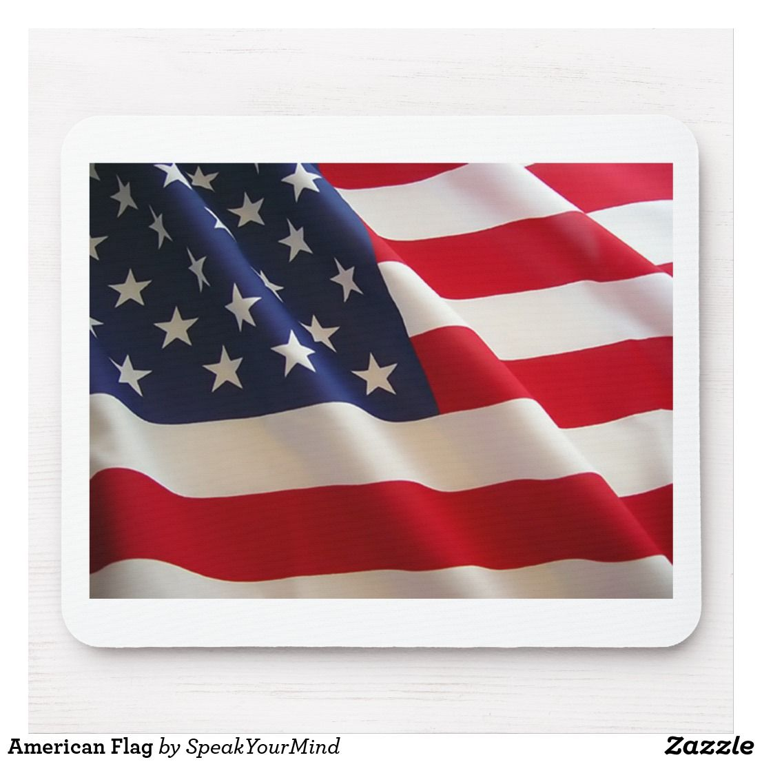American Flag Mouse Pad | Zazzle.com #americanflagart