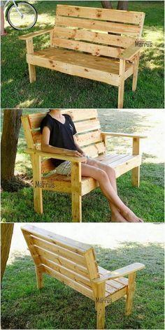 Perfect Ideas For Old Wood Pallets Repurposing Bancs De Jardin Palettes Meuble Jardin Palette Meubles En Bois De Palettes