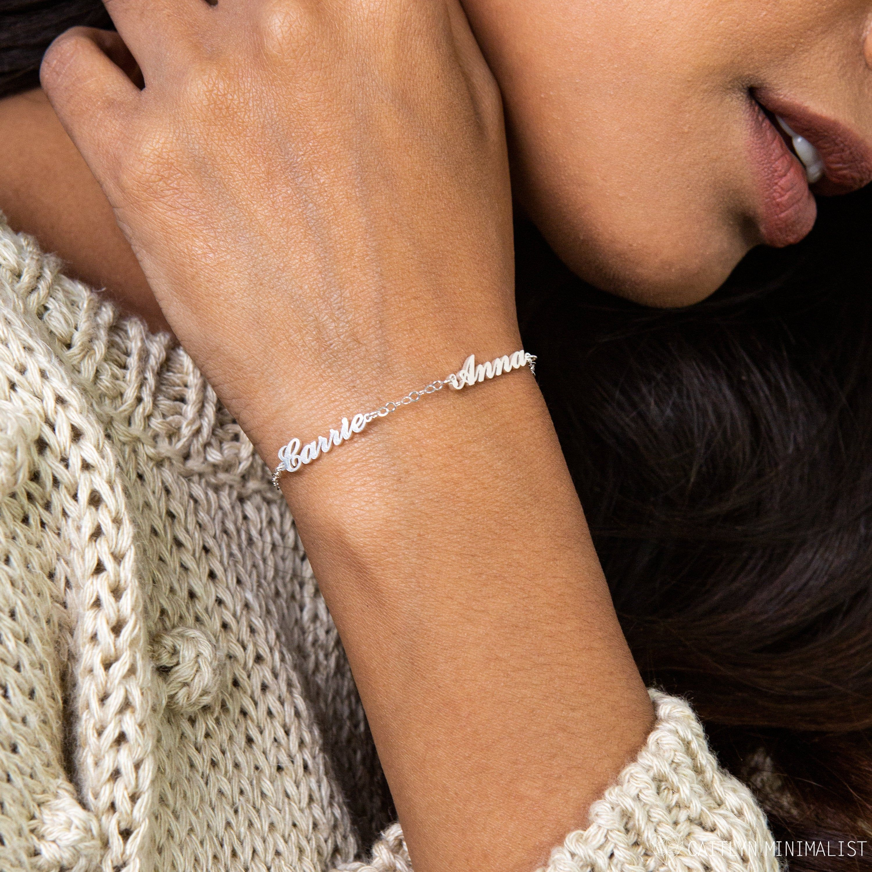 Silver Jewelry for Her Sterling Silver and Gold Textured Disc Bracelet Holiday Gifts for her Silver Bracelet Gold Jewelry for Her