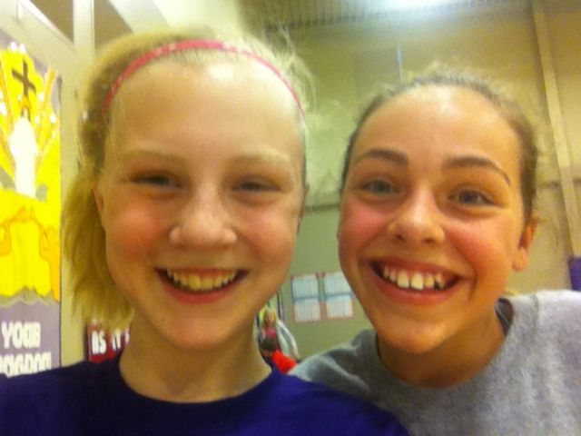 Julia and Abby