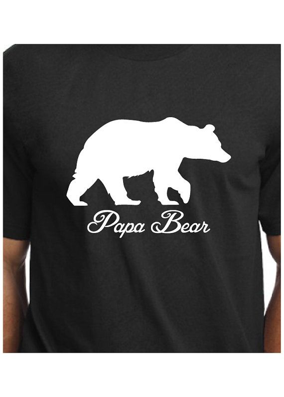 6b99ea3e5 Papa Bear Tshirt T-shirt T Shirt Tee Workout Dad Husband Father New Daddy  Baby Shower New Baby Pregnancy Announcement Funny Gift Idea by  CoolTeesOnline