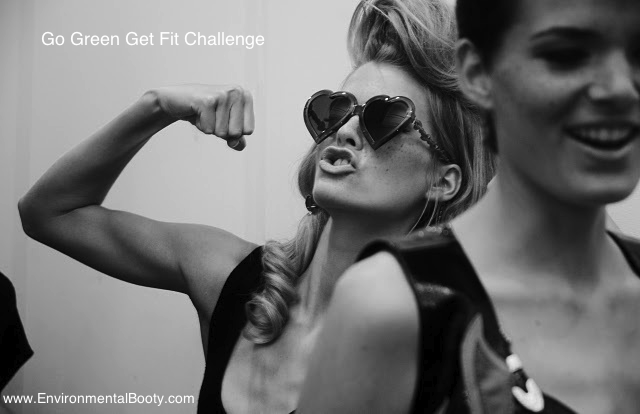 Live a Little Idea #12 - Release Your Inner Fitness Goddess and Join Our Go Green Get Fit Challenge to Sustain Your Self™ | Environmental Booty®...Find the Treasure in Living Green!