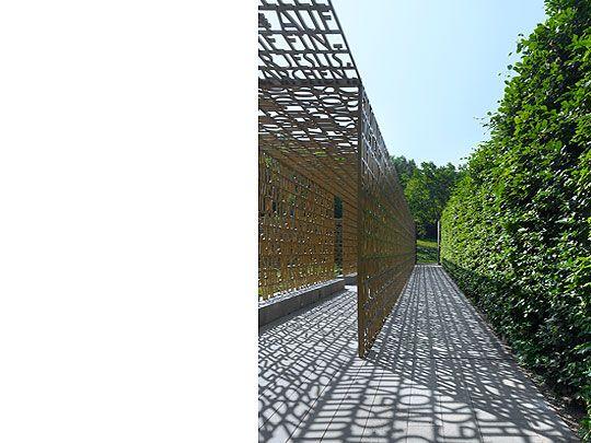 The Written Garden...Christlicher Garten, Berlin Marzahn, Marianne Mommsen und Gero Heck -