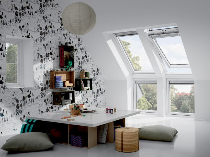 Fenêtres de toit  quelques idées lumineuses Fenêtre de toit velux