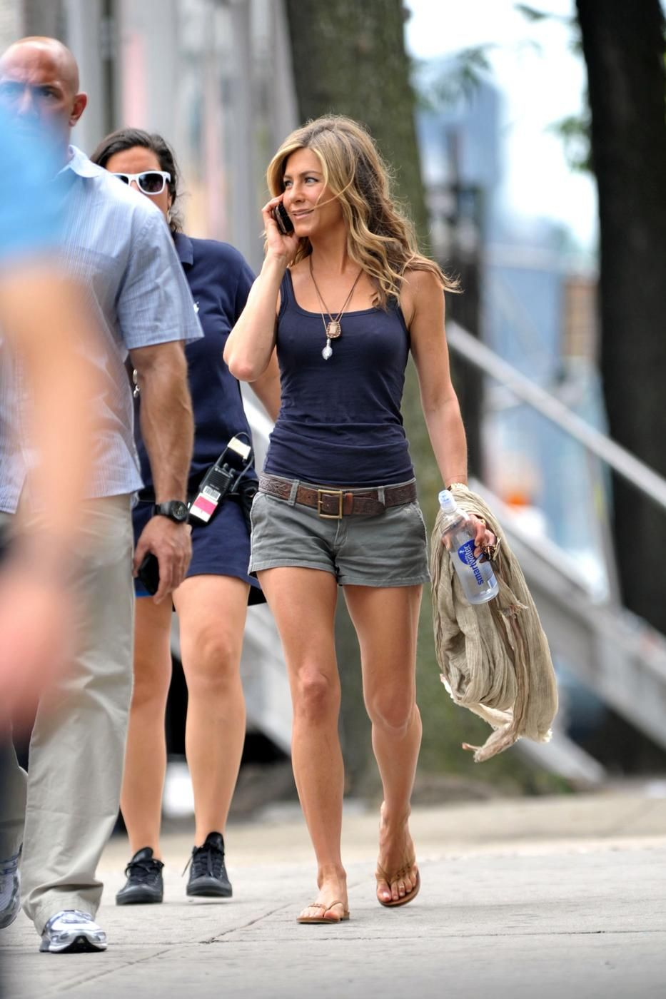 Apologise, jennifer aniston shorts please Big