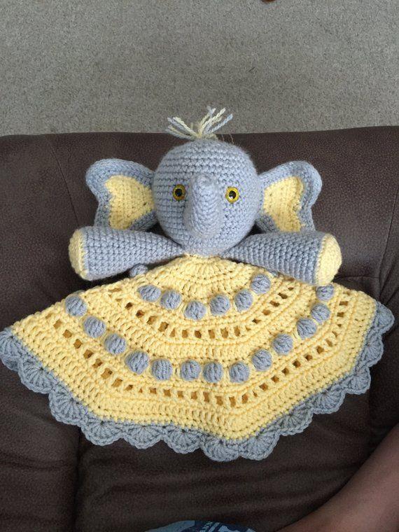 Crochet Elephant Lovey Pattern - Crochet News | 760x570