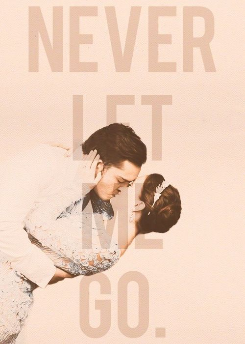 "Chuck & Blair! ❤  ""Never let me go"""