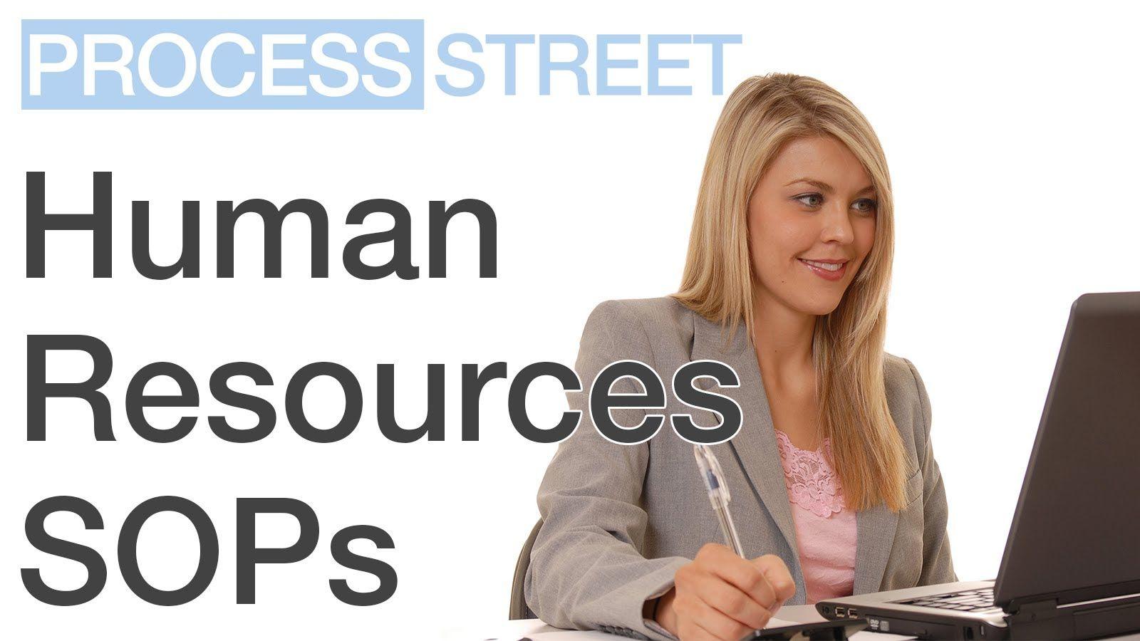 Human Resources Standard Operating Procedures | HR | SOPs | Process