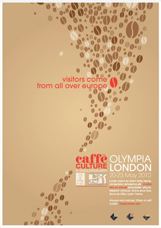 An Iconic Coffee Bean Caffe Culture Branding By Tim Smith Aka My