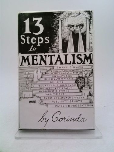 13 Steps To Mentalism New And Used Books From Thrift Books Mind Reading Tricks Card Tricks Books