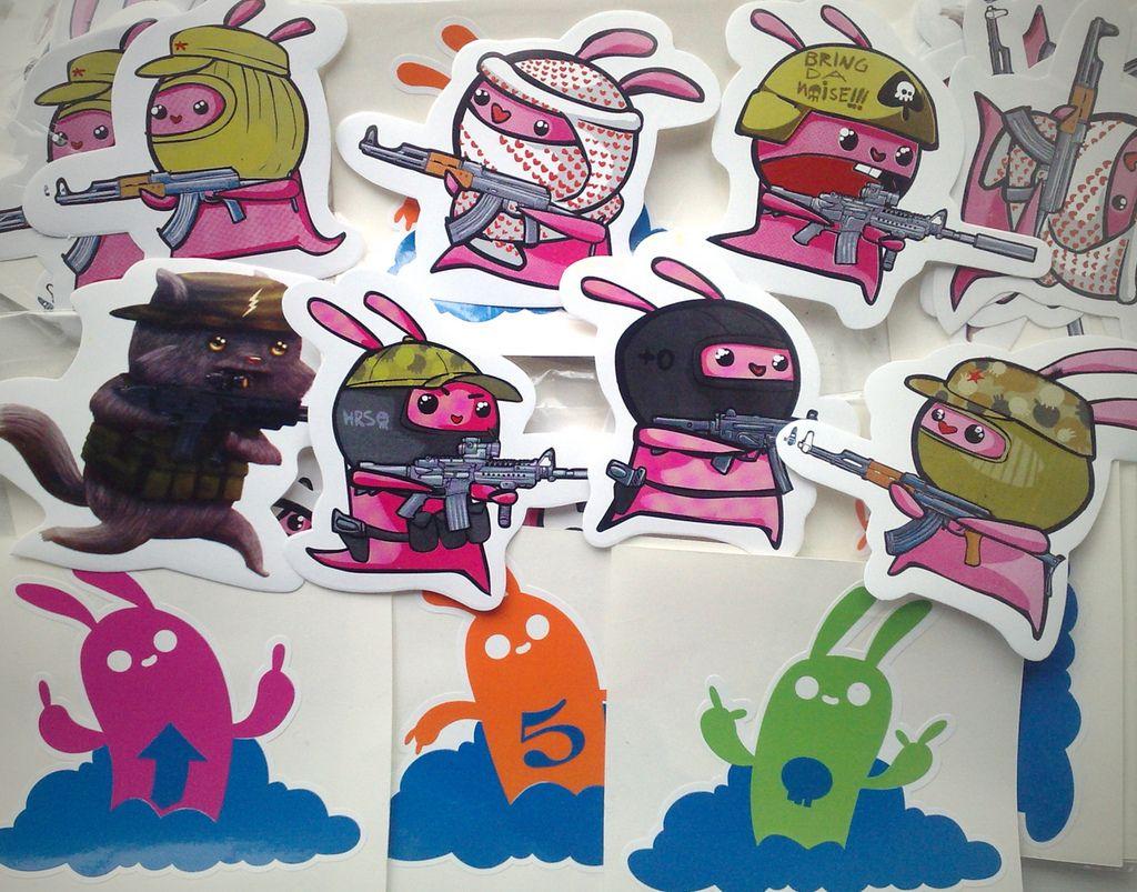 84 20 creative sticker design inspiration