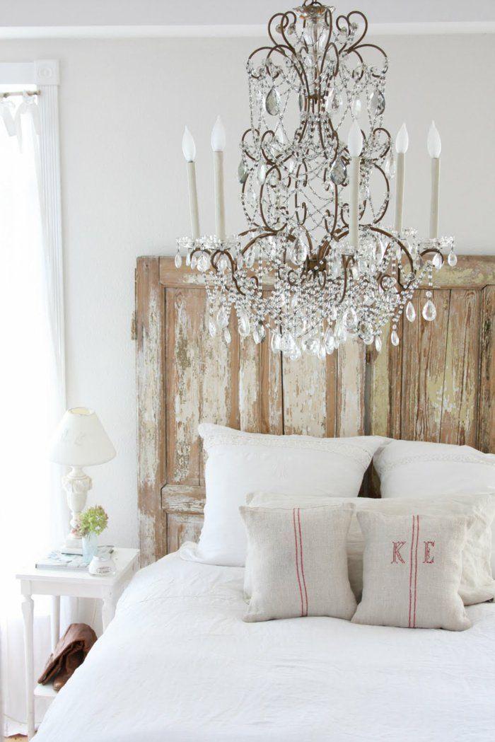 Hochwertig Wohnideen Zum Selber Machen Alte Tür Bettkopfteil