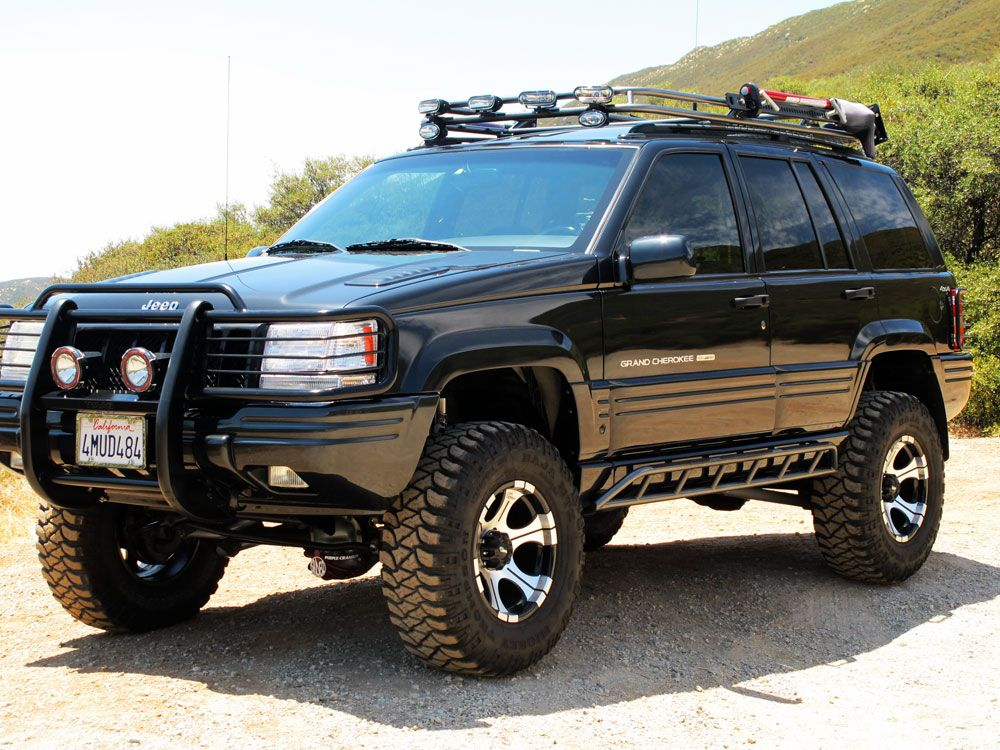 jeep grand cherokee roof rack google search tactical. Black Bedroom Furniture Sets. Home Design Ideas