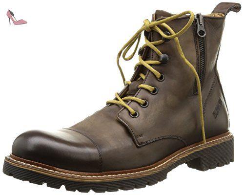 Bunker Job, Boots homme: Amazon.fr: Chaussures et Sacs