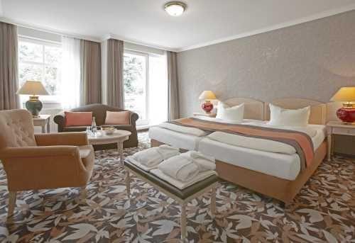 Die Zimmer im Upstalsboom Ostseestrand auf Usedom www