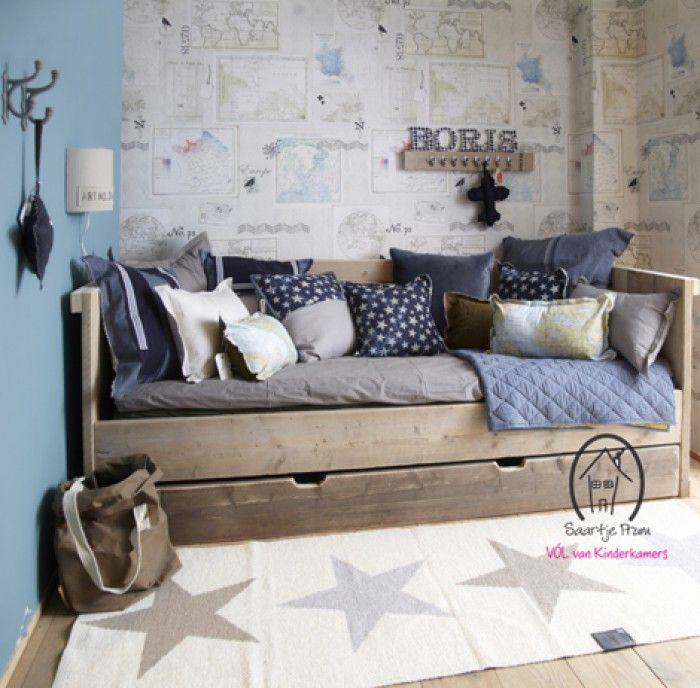 Stoere babykamer ideeen kinderkamer idee n interieur inrichting accessoires slaapkamer - Jongens kamer decoratie ideeen ...