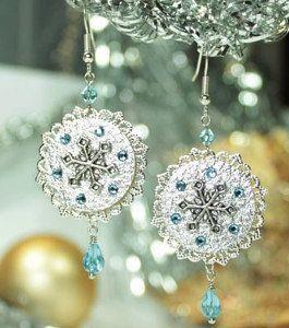 Snazzy Snowflake DIY Earrings