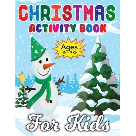 Let your child's imagination run wild with another fun activity book for kids from Peanut Prodigy. We are excited to introduce The Christmas Activity Book for Kids - Ages 6-10! This book guarantees hours of screen-free FUN! Gift a boy or girl this season with the books that promote practicing brain games, motor skills, and exercising their love for all things in the Christmas spirit!
