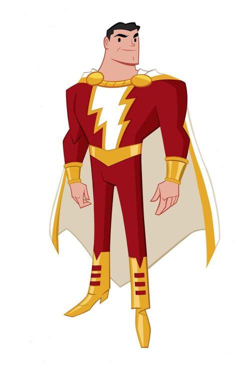 Shazam by Shane Glines   Heróis de quadrinhos, Capitão ...