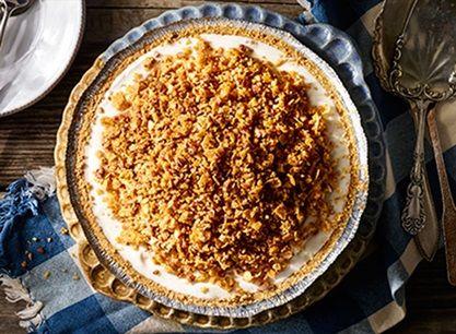 Unfried Ice Cream Pie Recipe Fried ice cream, Ice
